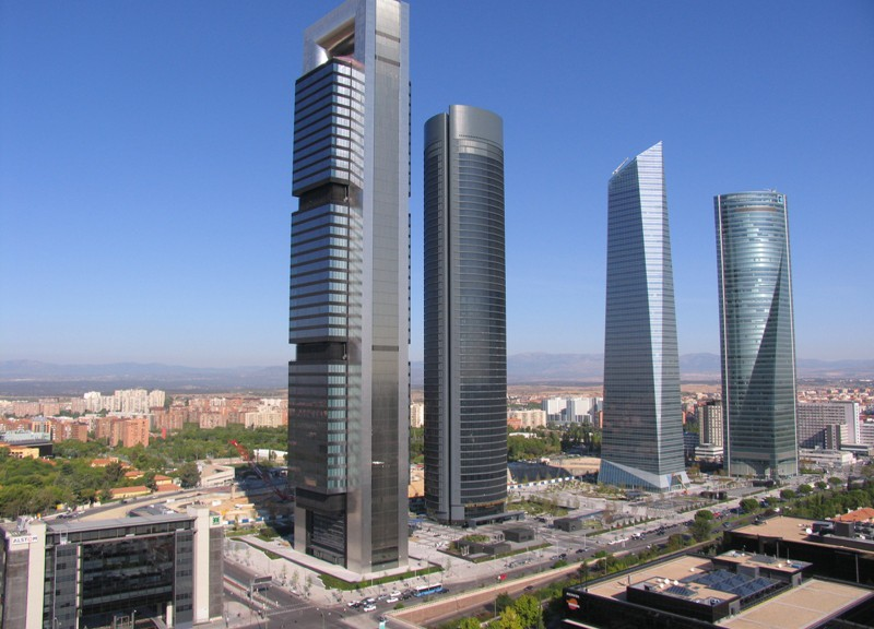 Vista aérea 'Cuatro Torres Business Area'