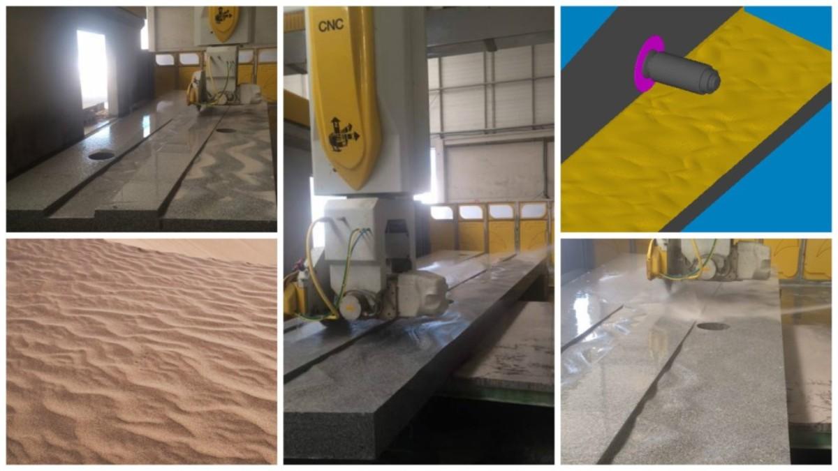 Acabado arena de playa