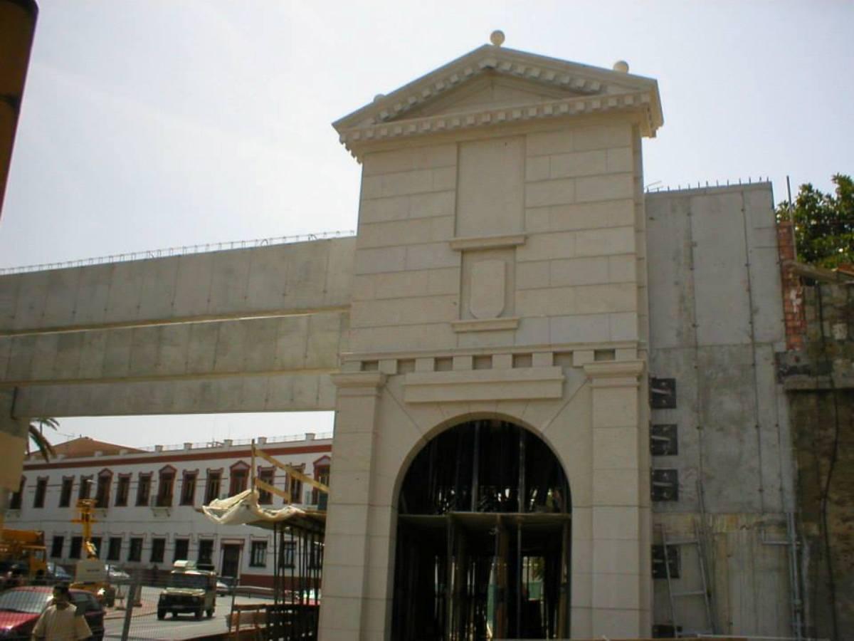 """Monument """"Baluarte de los Mallorquines"""" in Ceuta."""