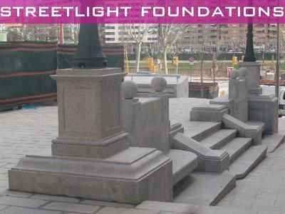 Streetlight foundations
