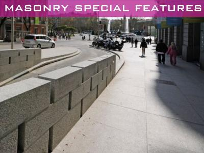 Masonry special features