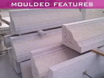 Moulded features