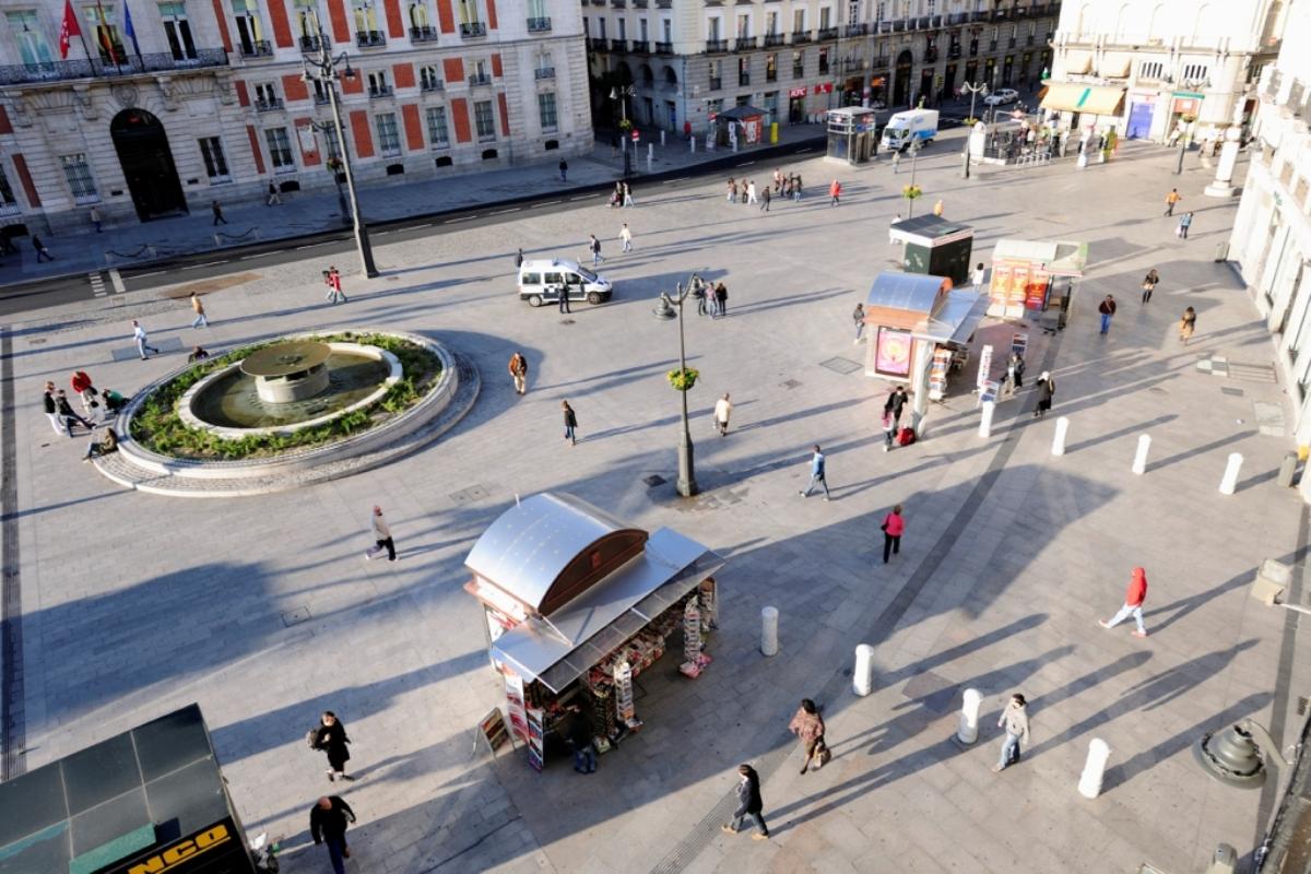 vista-aérea-Puerta-del-Sol-Madrid