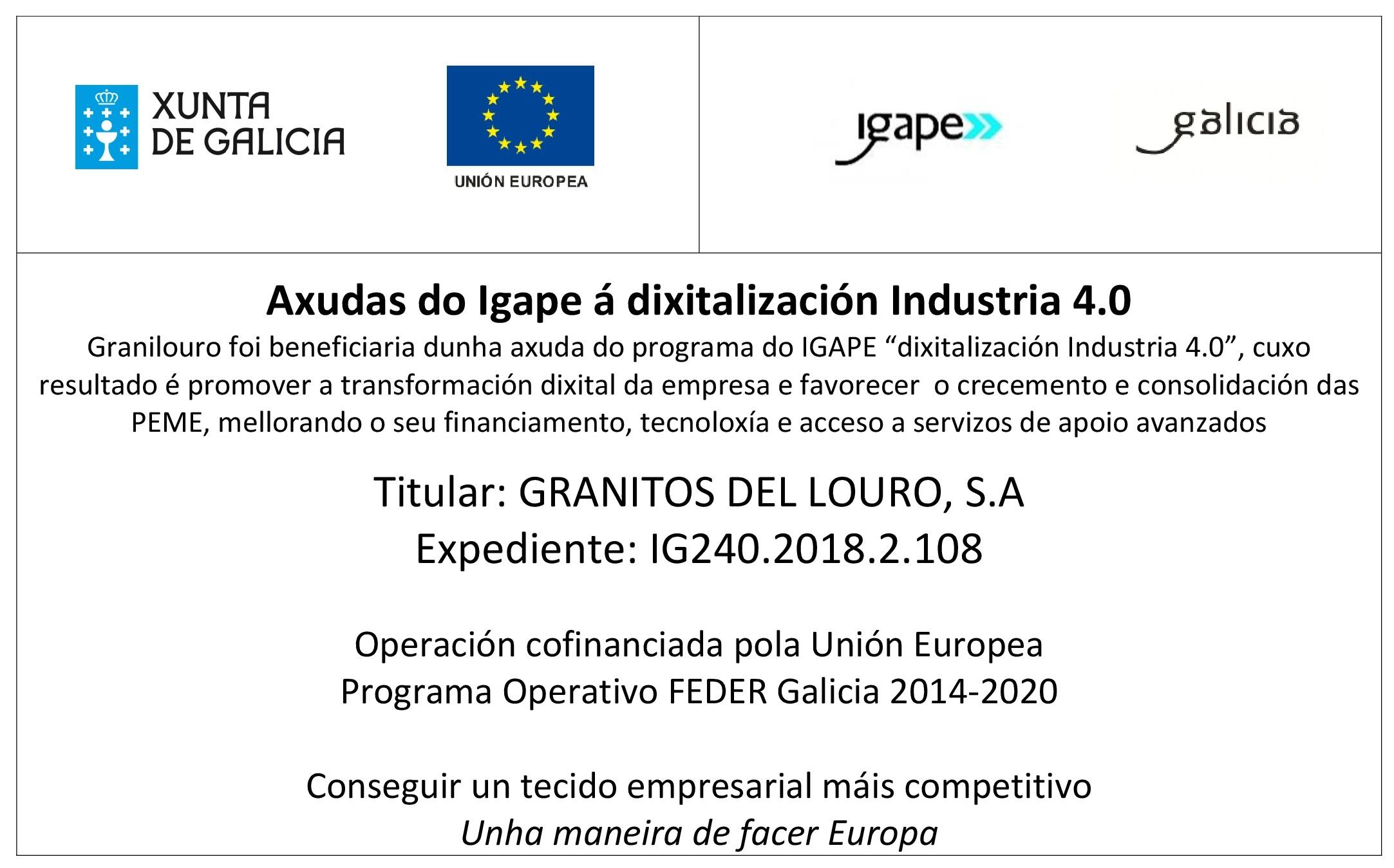 IGAPE_INDUSTRIA_4.0_GRANILOURO